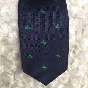 I crew clover tie